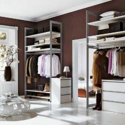 Стеллажи металлические для одежды