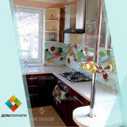 Кухонный фартук из стекла под заказ в Днепре