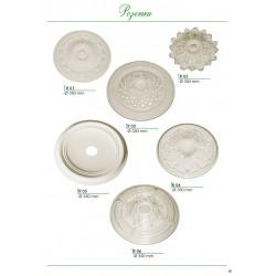 Гипсовые розетки потолочные декоративные от производителя Винница