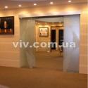 Стеклянные раздвижные межкомнатные двери на заказ от производителя Цена Фото Заказать Купить со скидкой Киев