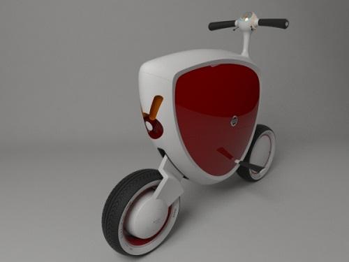 Скутеры в стиле модерн