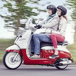 Скутер Peugeot